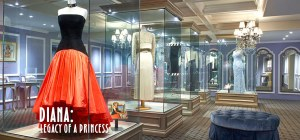 Diana: Legacy of a Princess exhibit - Photo courtesy of the Queen Mary