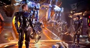 "Charlie Hunnam and Rinko Kikuchi star in ""Pacific Rim."" Photo courtesy of Warner Bros."