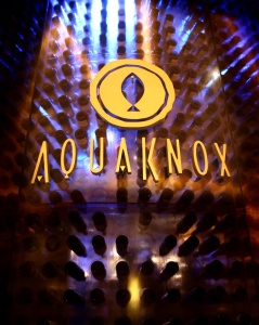 AquaKnox Wine Tower.  Photo courtesy of AquaKnox.