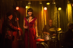 "Mary Steenburgen sings a song she composed herself on ""Last Vegas."" Photo by Chuck Zlotnick, courtesy of CBS Films."