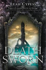 """Death Sworn"" by Leah Cypress. Book cover courtesy of Greenwillow Books."