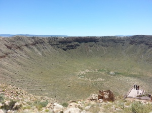 Meteor Crater. Photo by Dinah Eng