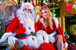 "Drew Scott and AnnaLynne McCord star in ""The Christmas Parade."" Photo Credit: Copyright 2014 Crown Media United States LLC/Photographer: Peter H. Stranks"