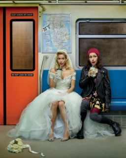 """Becca (Laura Ramsey) and Lolly (Sarah Goldberg) in """"Hindsight."""" Photo courtesy of VH1."""