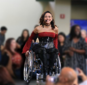 Auti Angel gives a wheelchair dancing performance at the 13th Annual Aquarium of the Pacific's Festival of Human Abilities. Photo courtesy of the Aquarium of the Pacific.