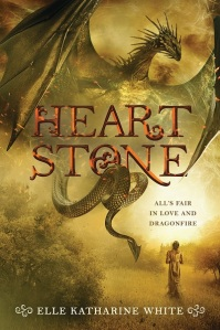 """Heartstone"" by Elle Katharine White. Book cover courtesy of Harper Voyager."