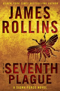 """The Seventh Plague"" by James Rollins. Book cover courtesy of William Morrow."